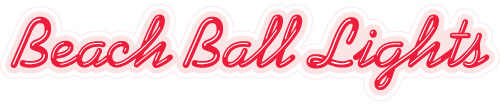 Beach Ball Lights Logo