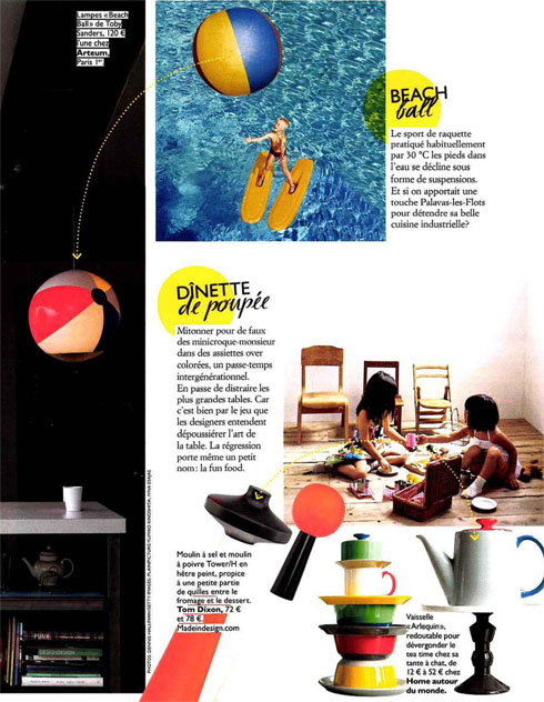 Grazia Lifestyle P2 BeachBallLights